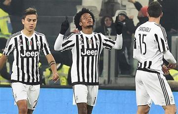 Cuadrado y Juventus ganan un intenso clásico ante el Torino