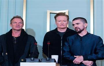 """Juanes: """"No sé lo que es vivir en un país en paz"""""""