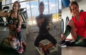 Las rutinas de ejercicio más duras de las famosas