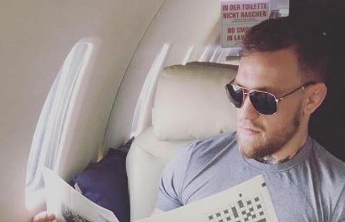 Conor McGregor hace el ridículo por un detalle en esta foto