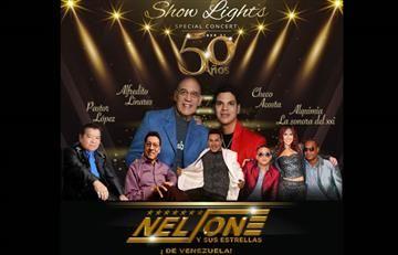 'Nelson y sus Estrellas' festejan sus 50 años con gran concierto