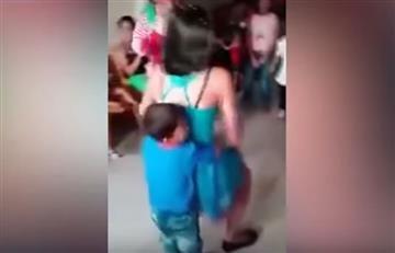 Perú: Indignación por bailarinas haciendo 'twerking' con niños