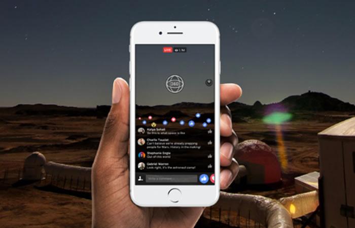 Facebook Live implementa los videos en 360 grados