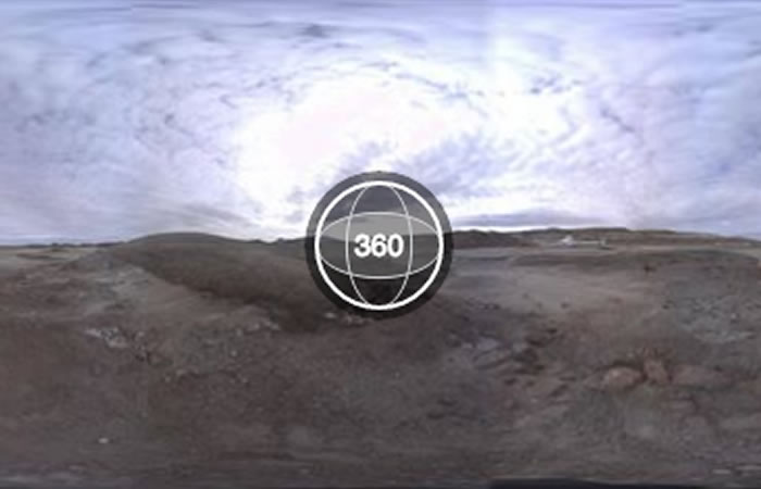 Facebook realiza su primer transmisión en 360. Foto: Facebook
