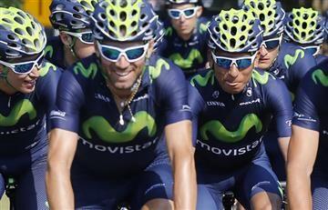 Nairo Quintana: le quitan la bicicleta y multan a compañero del colombiano