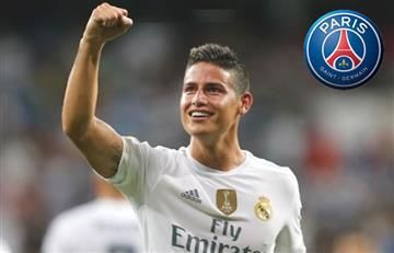 ¿James Rodríguez al PSG?