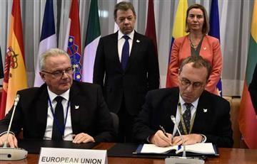 Millonaria ayuda económica de la Unión Europea para Colombia