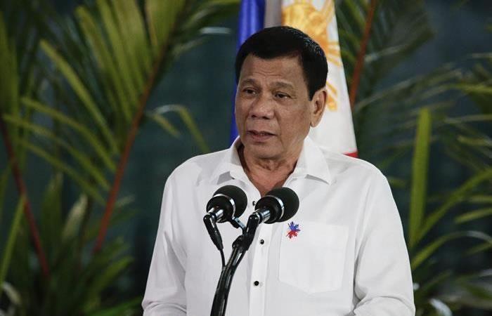 Filipinas: Presidente confesó que mató drogadictos
