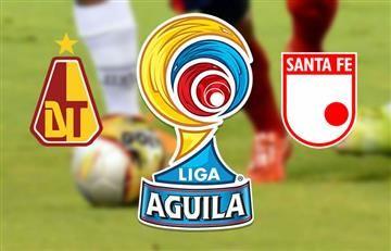 Tolima y Santa Fe empataron en la final