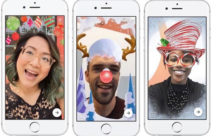 Facebook Messenger: ¿Cómo utilizar la nueva cámara de Navidad?