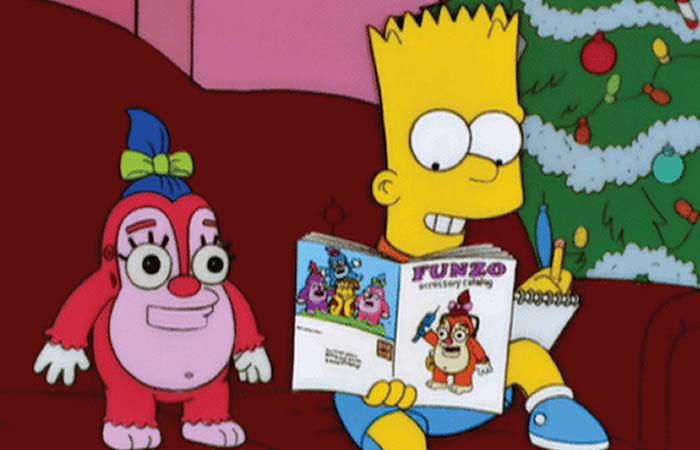 Los Simpson: Juguetes interactivos espían a niños