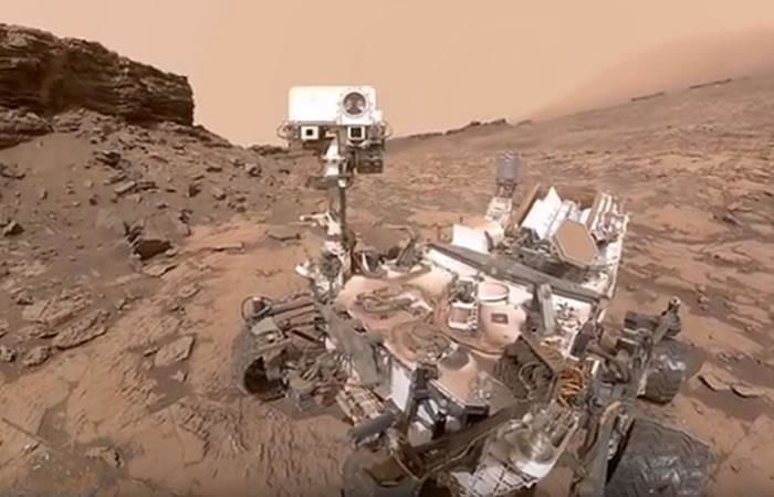 Marte: Curiosity encontró nueva evidencia de posible vida