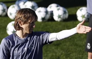 ¿Modric defendió al Atlético Nacional?