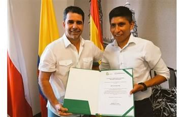 Nairo Quintana, embajador de los Juegos Centroamericanos y del Caribe