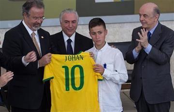 Chapecoense: Brasil agradeció a Medellín y al 'niño ángel'