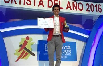 Esteban Chaves, 'Deportista Profesional del Año de Bogotá 2016'