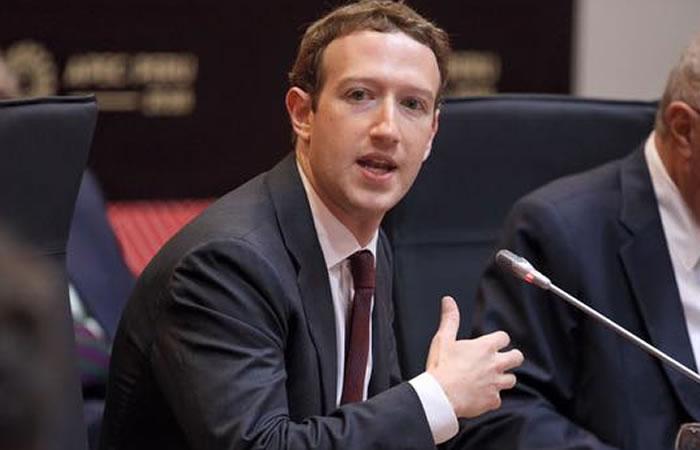 Mark Zuckerberg combatirá la noticias falsas. Foto:Facebook