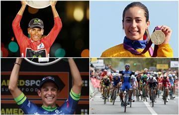 ¿Nairo Quintana, Mariana Pajón? Escoge cuál fue el mejor momento del ciclismo colombiano