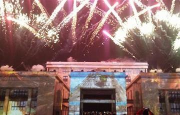 Las 'Luces de Lyon' se prendieron en Bogotá