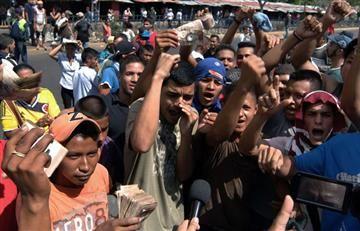 En Venezuela sigue la crisis y no hay dinero en efectivo