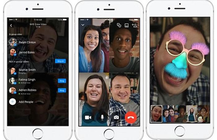 Facebook Messenger: ¿Cómo hacer videollamadas en grupo?