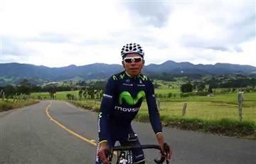 Nairo Quintana, Dayer y Winner Anacona se entrenan así en el campo