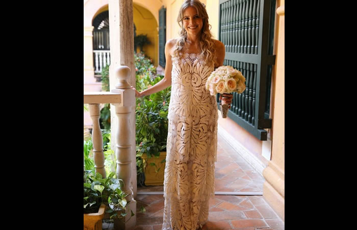Adriana Tono se casó y así fue su boda