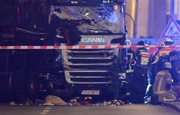 Berlín: Víctima del atentado relató el ataque en Twitter