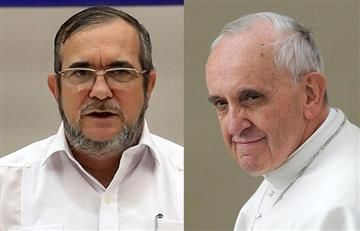 Farc solicita audiencia con el papa Francisco