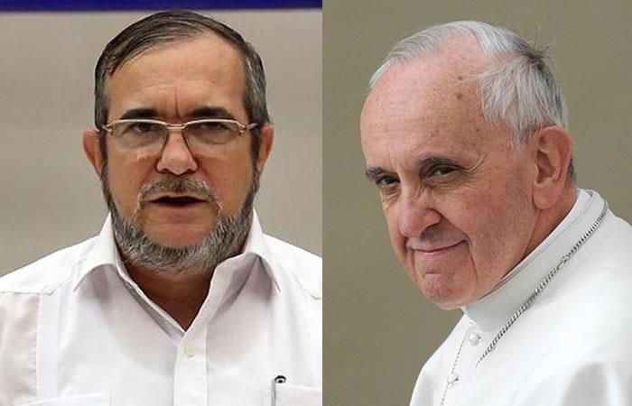 Farc solicita audiencia con el papa Francisco
