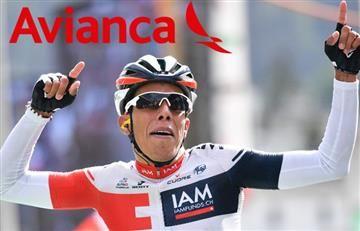 Jarlinson Pantano denuncia a Avianca y las redes explotan a favor del ciclista