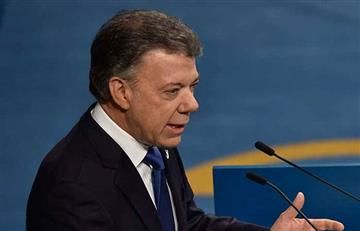 """Juan Manuel Santos: """"El problema de Venezuela no está en Colombia"""""""