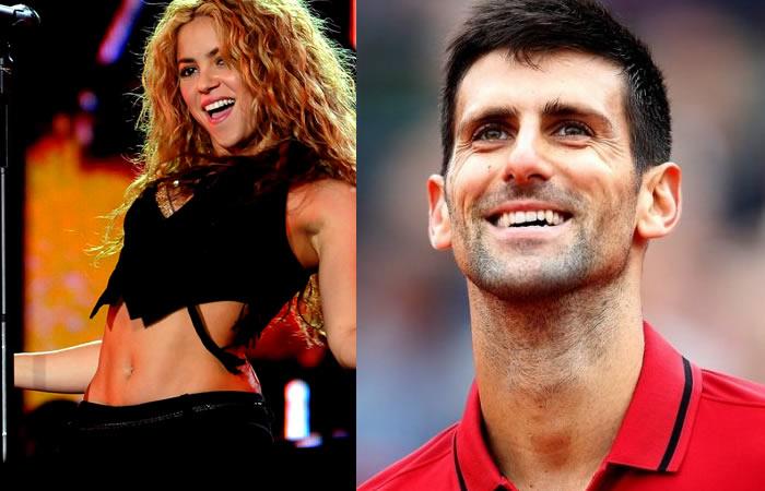 Novak Djokovic le deja un insólito mensaje a Shakira