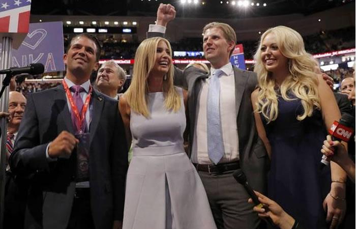 Hijos de Donald Trump en líos judiciales