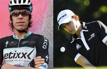 Rigoberto Urán y Camilo Villegas tienen una inédita competencia en bicicleta