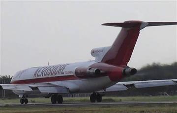 Videos: Impresionantes imágenes del accidente de Aerosucre