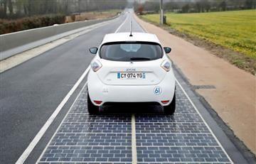 Francia tiene oficialmente la primera carretera solar