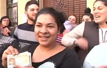 La mujer que creyó ganar la lotería el Gordo de Navidad