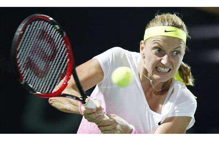 Petra Kvitova, número 11 del mundo, estará afuera media año