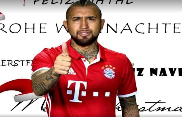 Bayern Múnich y su divertido mensaje de Navidad