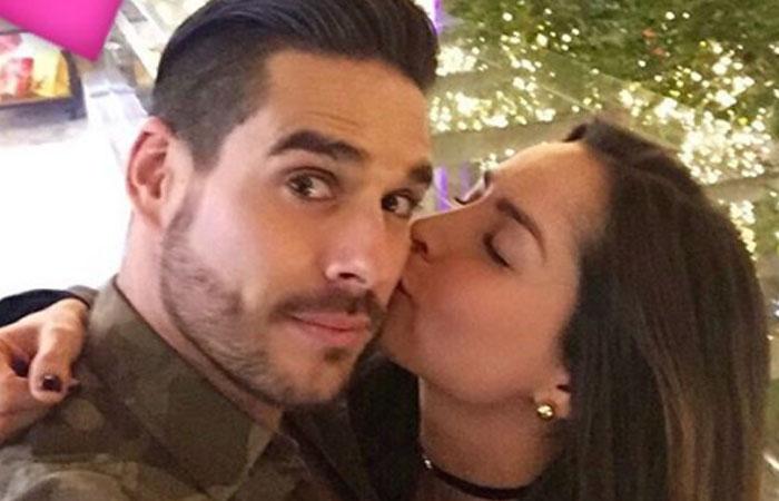 Carmen Villalobos y Sebastián Caicedo no pasarán juntos la Navidad