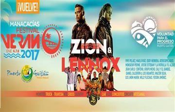 Cartel de lujo para el 'Festival de Verano 2017' de Puerto Gaitán