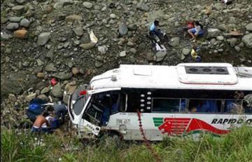 Trágico accidente en la vía Quibdó - Medellín