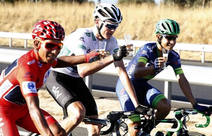 Chris Froome le hace esta confesión a Nairo Quintana y a Esteban Chaves