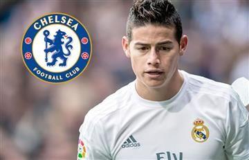 James Rodríguez: esto planea el Chelsea para llevárselo en el 2017