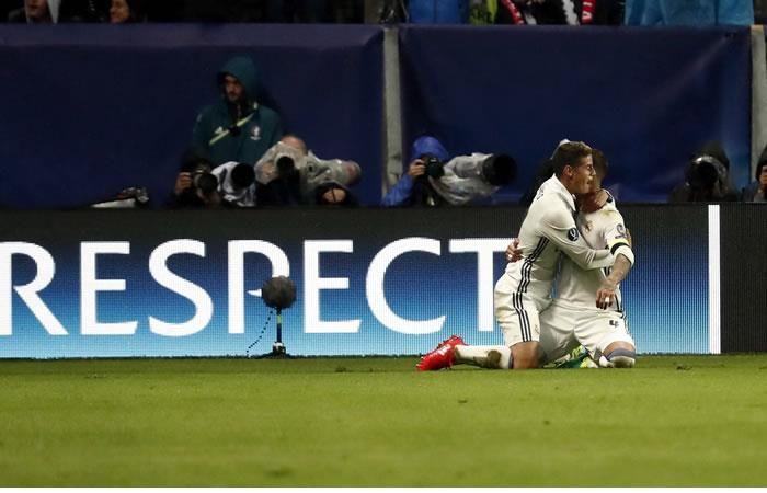 James Rodríguez: un compañero del Madrid sale a defenderlo