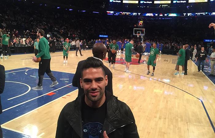 Falcao protagoniza mensaje de la NBA