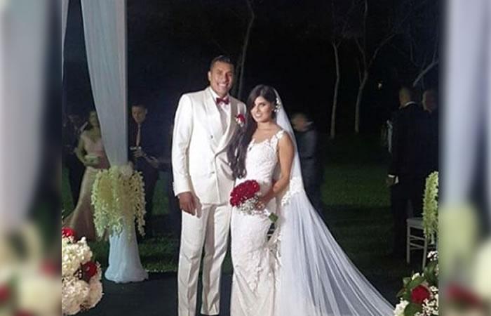Jeison Murillo aprovechó de sus vacaciones para casarse en Colombia