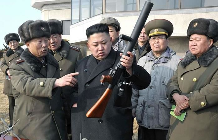 Kim Jong-un estaría planeando un 'desastre nuclear'