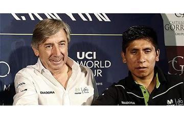 Nairo Quintana no correrá el Giro de Italia en 2017 según su manager